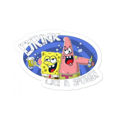 Sponge Sticker Designed By Disgus_thing