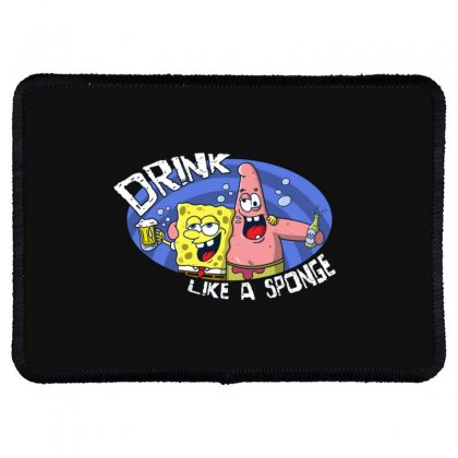 Sponge Rectangle Patch Designed By Disgus_thing