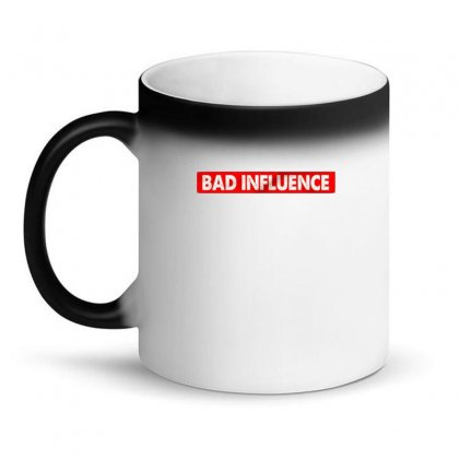 Bad Influence Magic Mug Designed By Disgus_thing