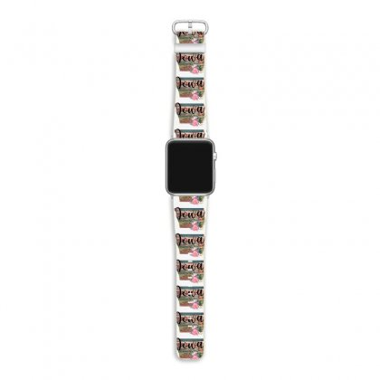 Iowa In My Soul Apple Watch Band Designed By Honeysuckle