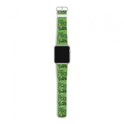 I'm 100% That Grinch For Light Apple Watch Band Designed By Sengul