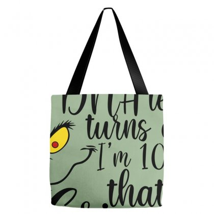 I'm 100% That Grinch For Light Tote Bags Designed By Sengul