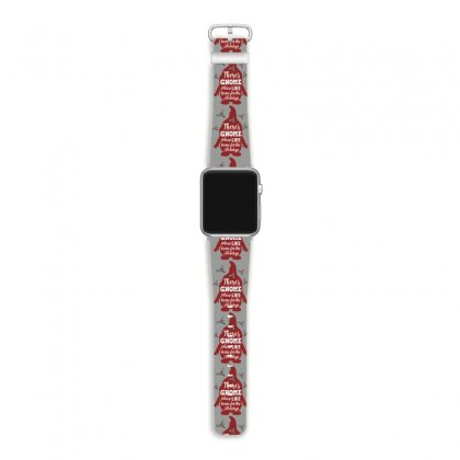 There's Gnome Place Like Home For The Holidays Apple Watch Band Designed By Sengul