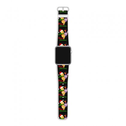 Merry Christmas Winnie Apple Watch Band Designed By Hasret
