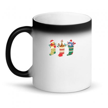 Christmas Winnie The Pooh Characters Magic Mug Designed By Hasret