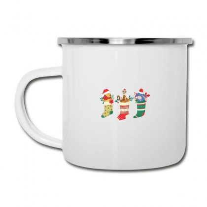 Christmas Winnie The Pooh Characters Camper Cup Designed By Hasret