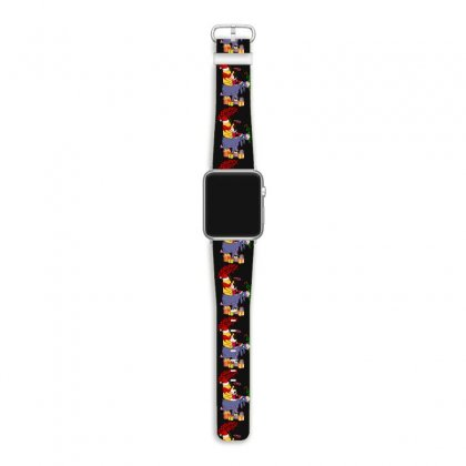 Winnie The Pooh Plaid Pattern Apple Watch Band Designed By Hasret