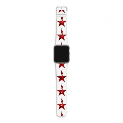 Hamilton Music Plaid Pattern For Light Apple Watch Band Designed By Hasret