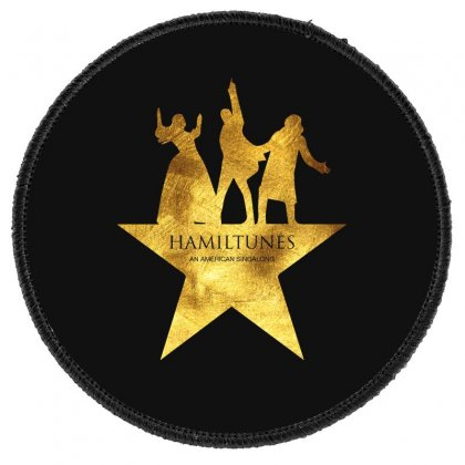 Hamiltunes An American Sing A Long Round Patch Designed By Hasret