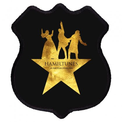 Hamiltunes An American Sing A Long Shield Patch Designed By Hasret