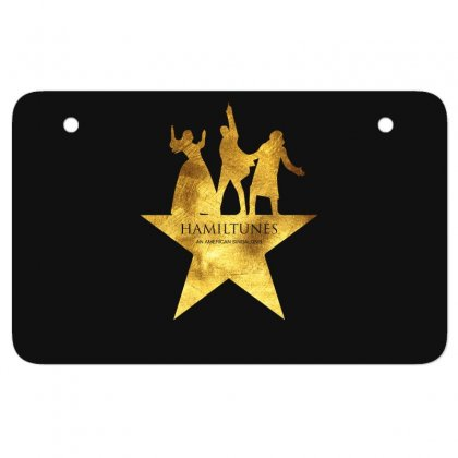 Hamiltunes An American Sing A Long Atv License Plate Designed By Hasret