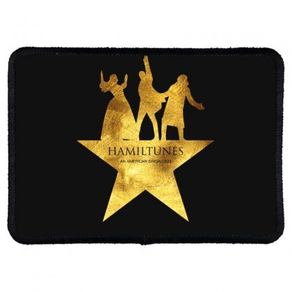 Hamiltunes An American Sing A Long Rectangle Patch Designed By Hasret