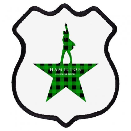 Hamilton Music Green Plaid For Light Shield Patch Designed By Hasret