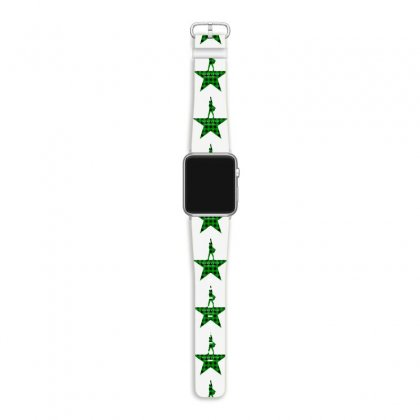 Hamilton Music Green Plaid For Light Apple Watch Band Designed By Hasret