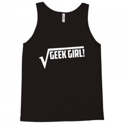 geek girl Tank Top | Artistshot