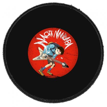 Naota Round Patch Designed By Disgus_thing