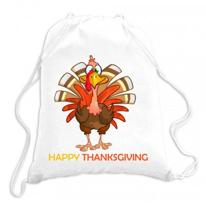Thanksgiving Drawstring Bags Designed By Elhaouass