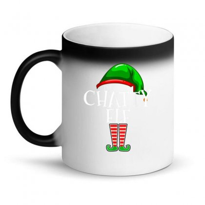 The Chatty Elf Group Matching Family Christmas Gift Funny T Shirt Magic Mug Designed By Cuser1744