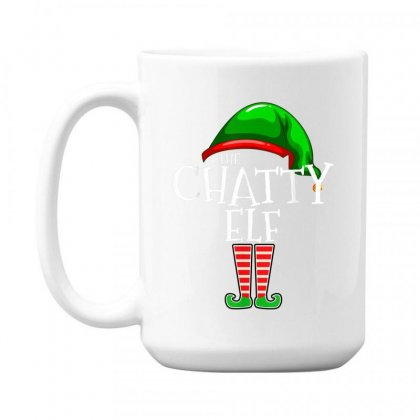 The Chatty Elf Group Matching Family Christmas Gift Funny T Shirt 15 Oz Coffe Mug Designed By Cuser1744
