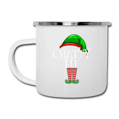 The Chatty Elf Group Matching Family Christmas Gift Funny T Shirt Camper Cup Designed By Cuser1744
