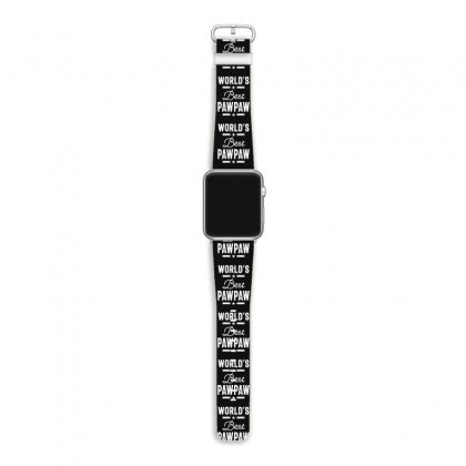 World's Best Pawpaw Father Grandpa Gift Apple Watch Band Designed By Cidolopez