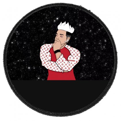 Thinking New Round Patch Designed By Supremesj