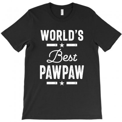 World's Best Pawpaw Father Grandpa Gift T-shirt Designed By Cidolopez