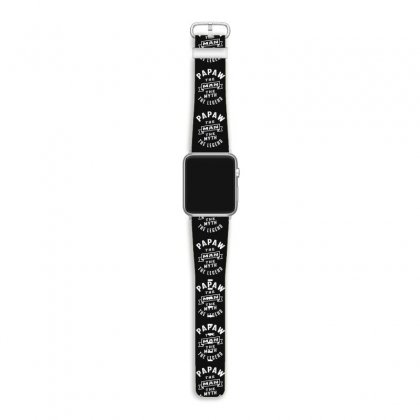 Papaw The Man The Myth The Legend Daddy Gift Apple Watch Band Designed By Cidolopez