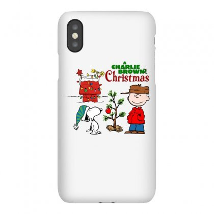 Peanuts Charlie Brown Christmas Iphonex Case Designed By Neset