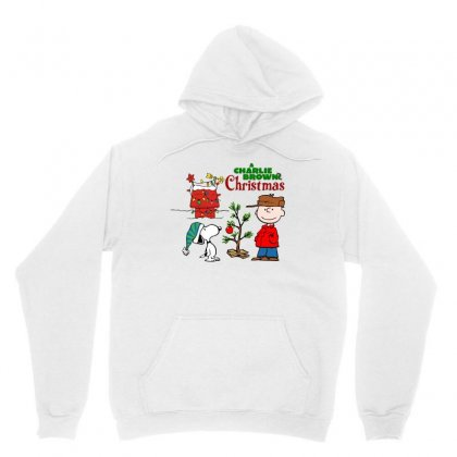 Peanuts Charlie Brown Christmas Unisex Hoodie Designed By Neset