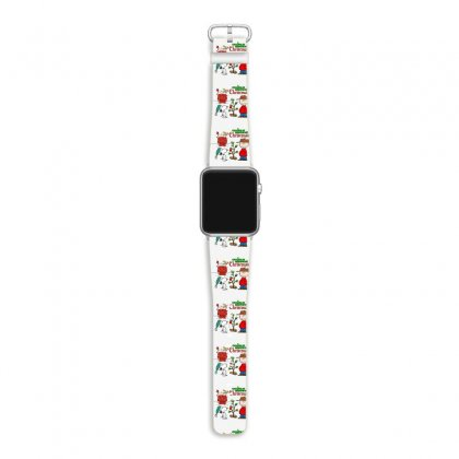 Peanuts Charlie Brown Christmas Apple Watch Band Designed By Neset