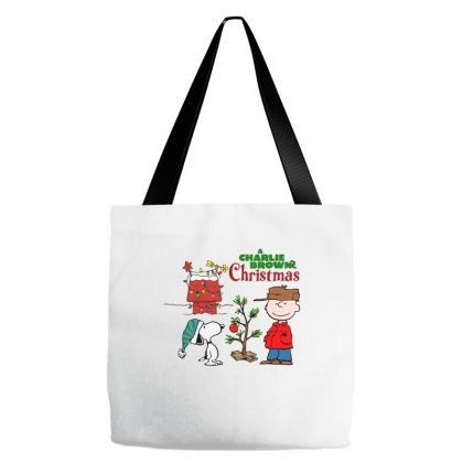 Peanuts Charlie Brown Christmas Tote Bags Designed By Neset