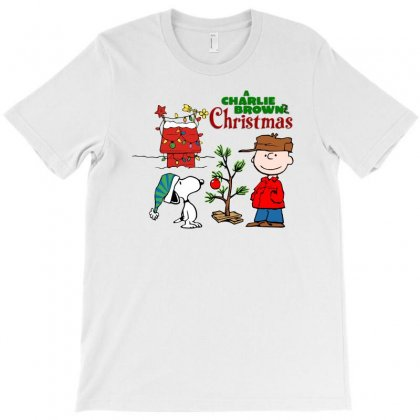 Peanuts Charlie Brown Christmas T-shirt Designed By Neset