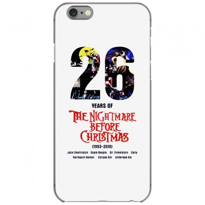 26 Years Of The Nightmare Before Christmas Iphone 6/6s Case Designed By Mirazjason
