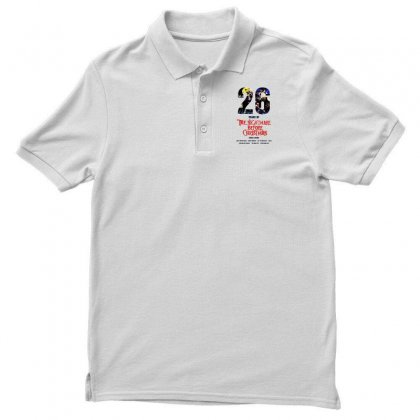 26 Years Of The Nightmare Before Christmas Men's Polo Shirt Designed By Mirazjason