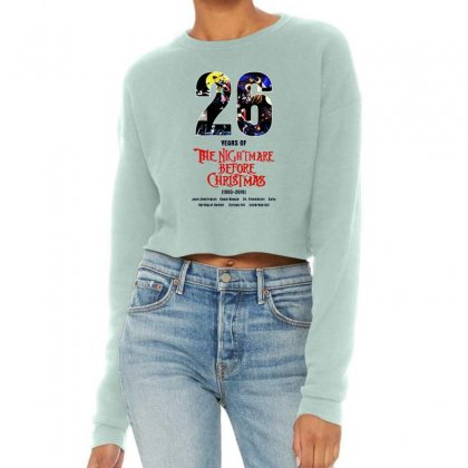 26 Years Of The Nightmare Before Christmas Cropped Sweater Designed By Mirazjason