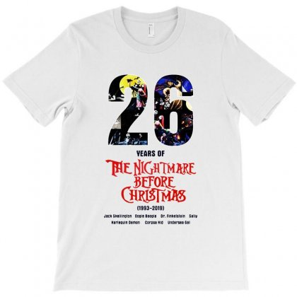 26 Years Of The Nightmare Before Christmas T-shirt Designed By Mirazjason