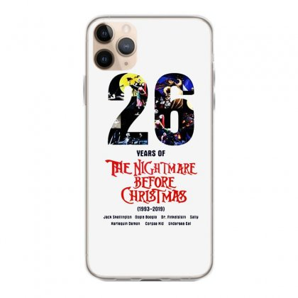 26 Years Of The Nightmare Before Christmas Iphone 11 Pro Max Case Designed By Mirazjason