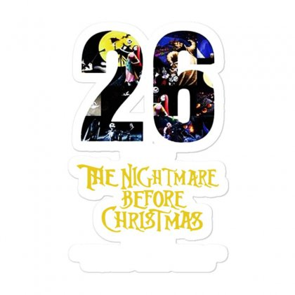 26 Years Of The Nightmare Before Christmas 1993 2019 Sticker Designed By Mirazjason