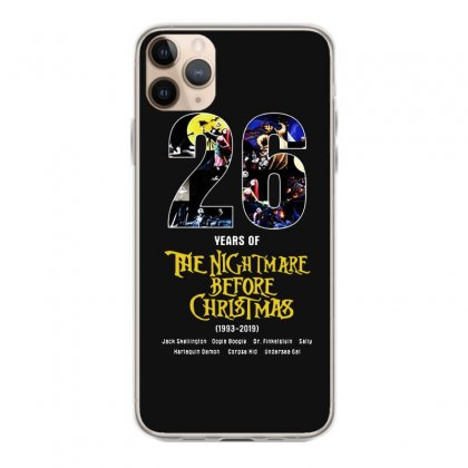 26 Years Of The Nightmare Before Christmas 1993 2019 Iphone 11 Pro Max Case Designed By Mirazjason