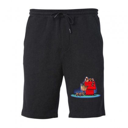 Funny Friends Of Galaxy Fleece Short Designed By Mirazjason