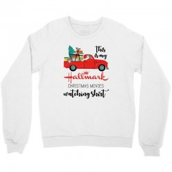 this is my hallmark christmas movies watching shirt Crewneck Sweatshirt | Artistshot