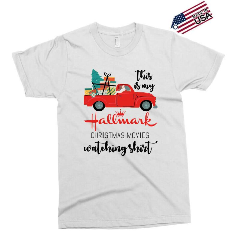 This Is My Hallmark Christmas Movies Watching Shirt Exclusive T-shirt | Artistshot