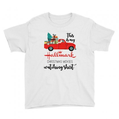 This Is My Hallmark Christmas Movies Watching Shirt Youth Tee Designed By Mirazjason