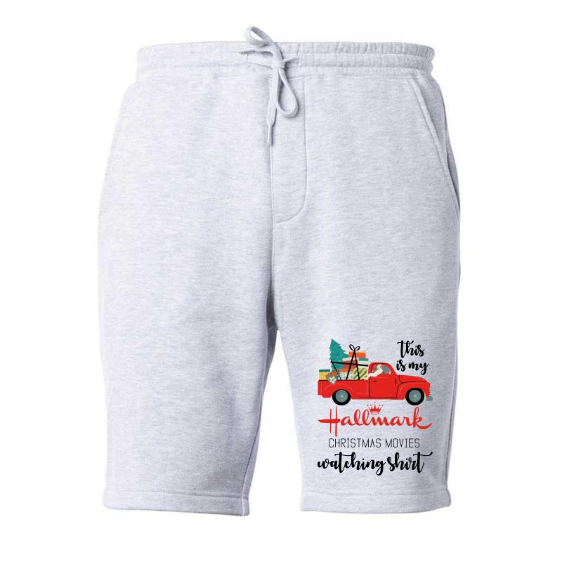 This Is My Hallmark Christmas Movies Watching Shirt Fleece Short | Artistshot