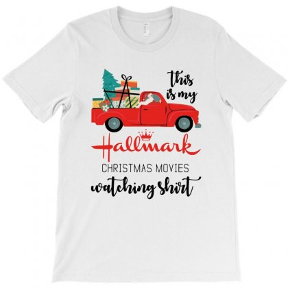 This Is My Hallmark Christmas Movies Watching Shirt T-shirt Designed By Mirazjason