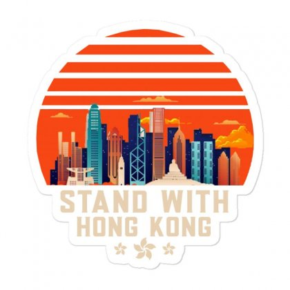 Stand With Hong Kong Sticker Designed By Mirazjason