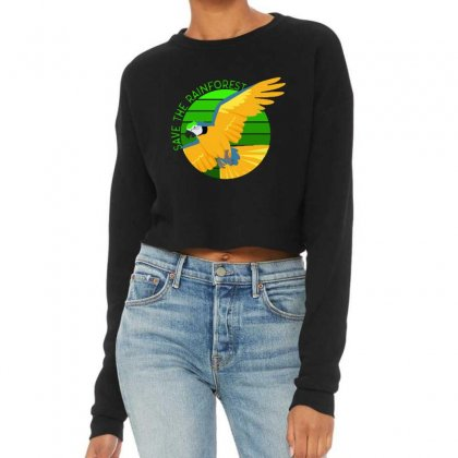 Save The Rainforest Cropped Sweater Designed By Mirazjason
