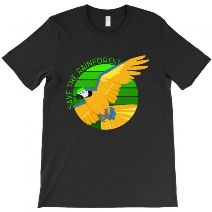 Save The Rainforest T-shirt Designed By Mirazjason