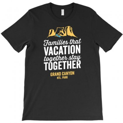 Family Vacation Grand Canyon Shirt T-shirt Designed By Daraart